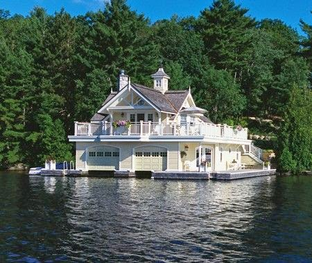 Muskoka Boathouse - HouseandHome.com